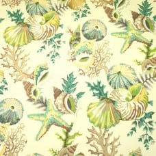Sea Shells Grantoli Indoor Outdoor Fabric Fabric Traders