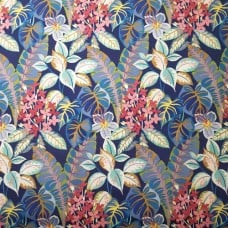 Tropical Flower Sprays and Foliage Indoor Outdoor Fabric