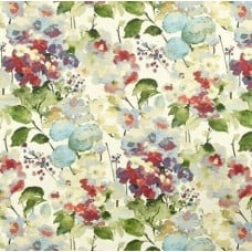 Floral Sprays Luxe Home Decor Cotton Fabric in Pink