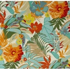 Tropical Garden Sunset Outdoor Fabric Fabric Traders