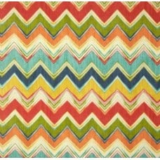 Chevron Zig Zag Fiesta Outdoor Fabric