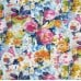 Floral Palette Glenburn Luxe Home Decor Cotton Fabric in Pink Fabric Traders