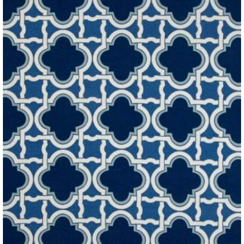 Classic Screen Indoor Outdoor Fabric in Blue | Fabric Traders