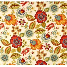 Decorative Fresh Cut Flowers Outdoor Fabric Fabric Traders