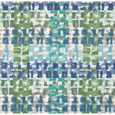 Decorative Weave Look Outdoor Fabric in Lagoon
