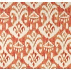 Ikat Orange Indoor Outdoor Fabric