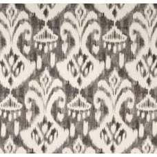 Ikat Grey Indoor Outdoor Fabric Fabric Traders