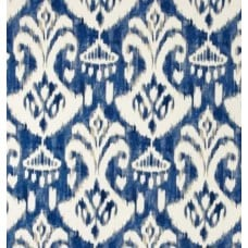 Ikat Indigo Indoor Outdoor Fabric