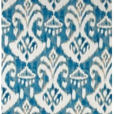 Ikat Blues Indoor Outdoor Fabric Fabric Traders