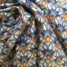 Egyptian Scallop Cotton Fabric in Metallic Gold Fabric Traders