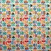 Tossed Owls Cotton Fabric by Timeless Treasures Fabric Traders