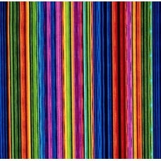 Striped for Flowers in Full Bloom Narrow Cotton Fabric Fabric Traders