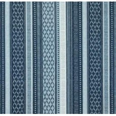 Decorative Stripe Fabric by Tommy Bahama in Blue
