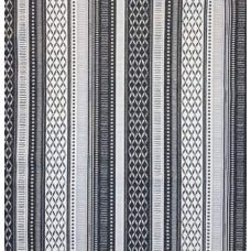 Decorative Stripe Fabric by Tommy Bahama in Grey