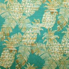 Pineapple Batik Outdoor Fabric by Tommy Bahama in Green Fabric Traders