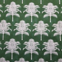 Palm Life Outdoor Fabric by Tommy Bahama in Emerald