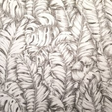 Luxe Circa in Dove Linen Blend Home Decor Fabric by Tommy Bahama