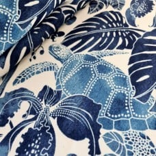 Tortuga Bay Outdoor Fabric by Tommy Bahama in Blue
