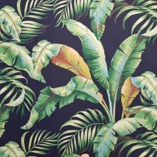 Palmiers in Caviar Indoor Outdoor Fabric by Tommy Bahama