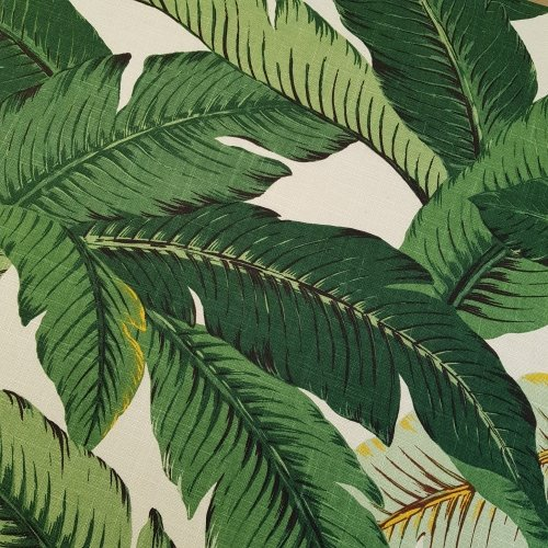 Swaying Palms Luxe Home Decor Fabric In Linen By Tommy