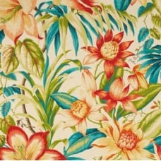Tiger Lilies Botanical Glow Indoor Outdoor Fabric by Tommy Bahama
