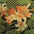 Ocean Floral in Caviar Indoor Outdoor Fabric by Tommy Bahama