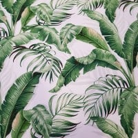 Palmiers in Green Indoor Outdoor Fabric by Tommy Bahama