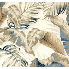 REMNANT - Palmiers Riptide Home Decor Fabric by Tommy Bahama