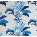 Banana Leaves Spray Outdoor Fabric in Blue by Tommy Bahama