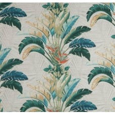 Banana Leaves Spray Outdoor Fabric in Wicker by Tommy Bahama Fabric Traders