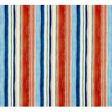 Playa Eterna Stripe Luxe Home Decor Fabric in Carib by Tommy Bahama