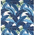 Swaying Palms Outdoor Fabric in Blue by Tommy Bahama