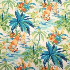 Wind Surfers Indoor Outdoor Fabric by Tommy Bahama Fabric Traders