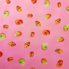 The Zuma Collection Cotton Fabric Sea Shells Pink by Tula Pink