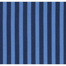 Tent Stripe in Blue Cotton Fabric by Tula Pink