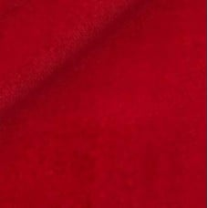 Velveteen Rich Red Cotton Velvet Fabric