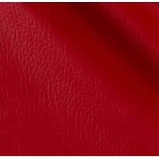 REMNANT - Vinyl Embossed Budget Fabric in Rouge 90cm