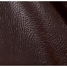 Vinyl Embossed Budget Fabric in Chocolate Brown  - OFFCUT