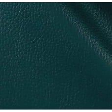REMNANT - Vinyl Embossed Budget Fabric in Hunter Green (Remnant: 9cm x 130cm)
