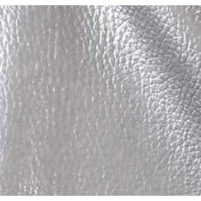 Vinyl Embossed Budget Fabric in Metallic Silver 90cm Fabric Traders
