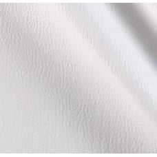 REMNANT - Vinyl Embossed Budget Fabric in White 90cm