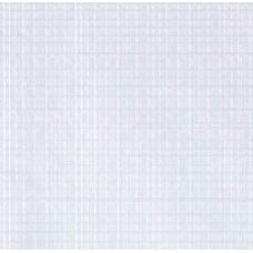 Vinyl Tablecloth Fabric in Embossed White