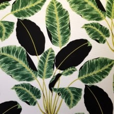 Hojas Cubanos Luxury Home Decor Fabric in Rainforest by Waverly Fabric Traders