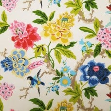 Candid Moment Gardenia Outdoor Fabric by Waverly