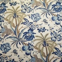 Exotic Curiosity Luxe Home Decor Linen Fabric by Waverly