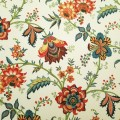 Island Gem Cotton Home Decor Fabric in Cream By Waverly