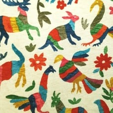 Marimba Duck Caliente Cotton Home Decor Fabric by Waverly