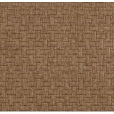 Basketweave Upholstery Fabric in Brown Cane by Waverly Fabric Traders