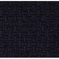 Basketweave Upholstery Fabric in Charcoal by Waverly