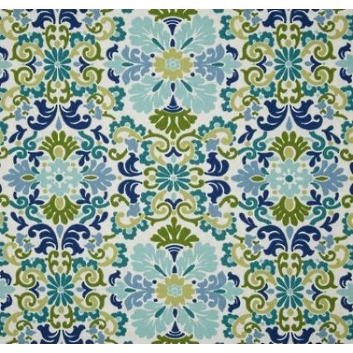 Damask In Seaspray Home Decor Fabric By Waverly| Fabric Traders